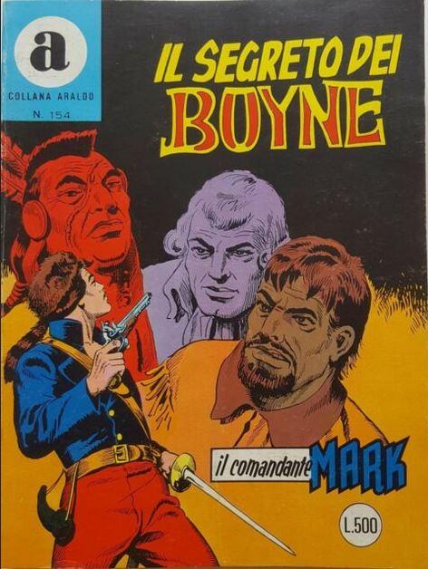il Comandante Mark collana Araldo copertina numero 154
