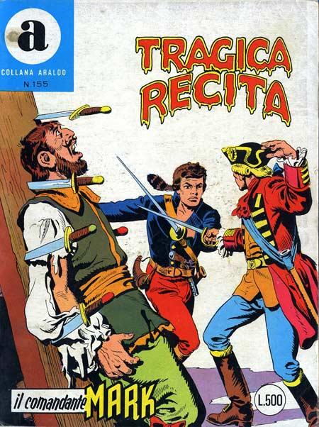 il Comandante Mark collana Araldo copertina numero 155
