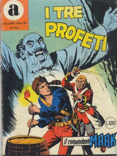 il Comandante Mark collana Araldo copertina numero 156