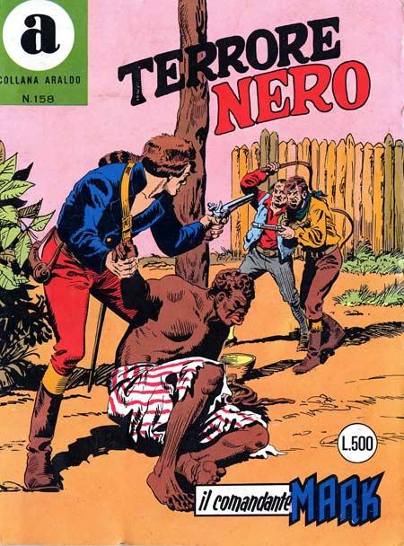il Comandante Mark collana Araldo copertina numero 158