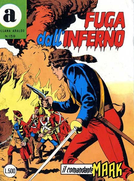 il Comandante Mark collana Araldo copertina numero 159