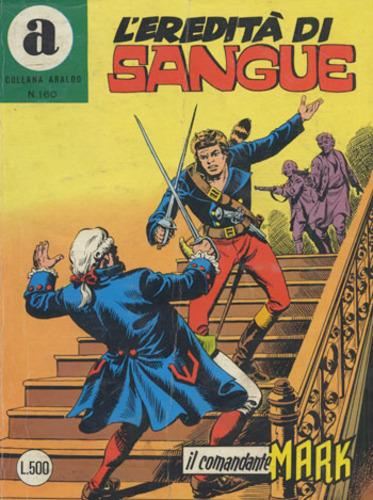 il Comandante Mark collana Araldo copertina numero 160