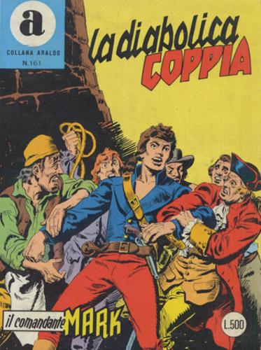 il Comandante Mark collana Araldo copertina numero 161