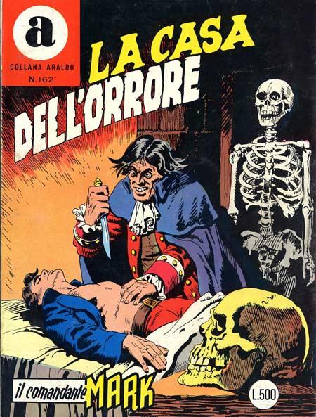 il Comandante Mark collana Araldo copertina numero 162