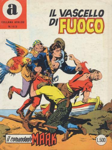 il Comandante Mark collana Araldo copertina numero 163