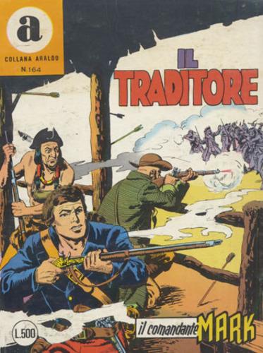 il Comandante Mark collana Araldo copertina numero 164