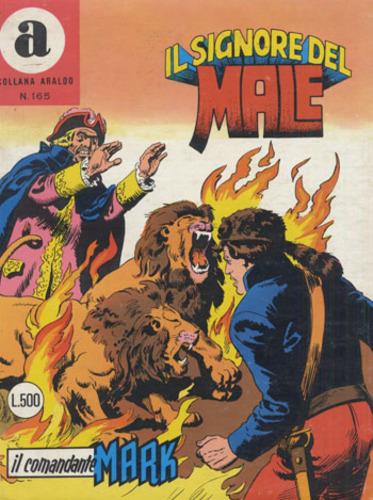 il Comandante Mark collana Araldo copertina numero 165