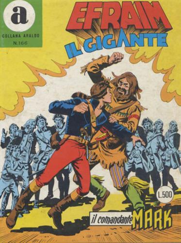 il Comandante Mark collana Araldo copertina numero 166