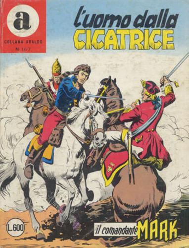 il Comandante Mark collana Araldo copertina numero 167