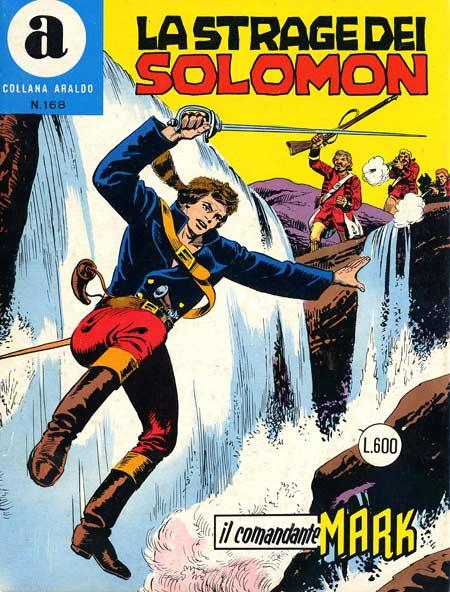 il Comandante Mark collana Araldo copertina numero 168