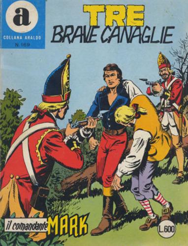 il Comandante Mark collana Araldo copertina numero 169