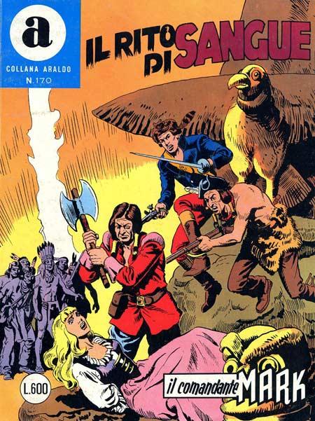 il Comandante Mark collana Araldo copertina numero 170