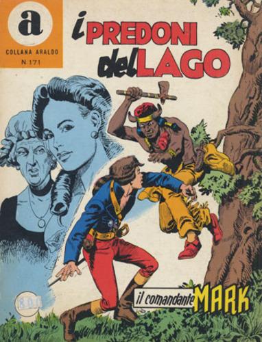 il Comandante Mark collana Araldo copertina numero 171