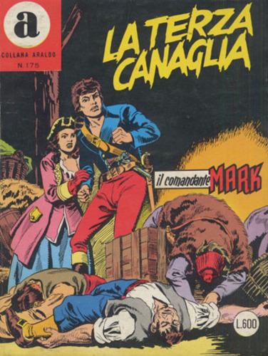 il Comandante Mark collana Araldo copertina numero 175