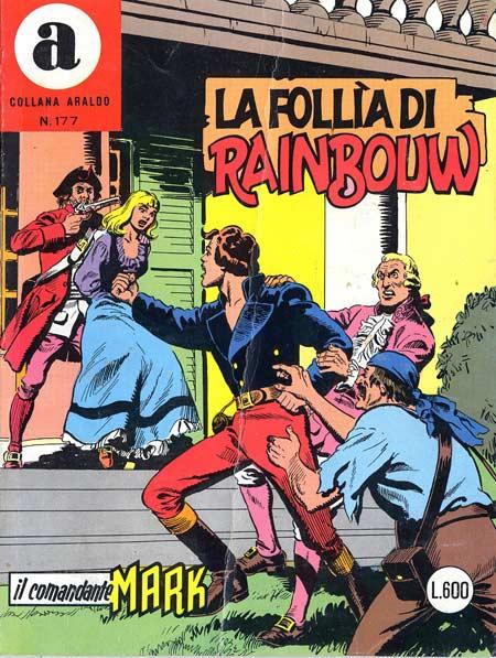 il Comandante Mark collana Araldo copertina numero 177
