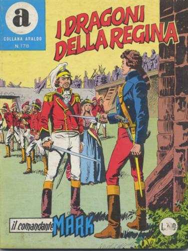 il Comandante Mark collana Araldo copertina numero 178