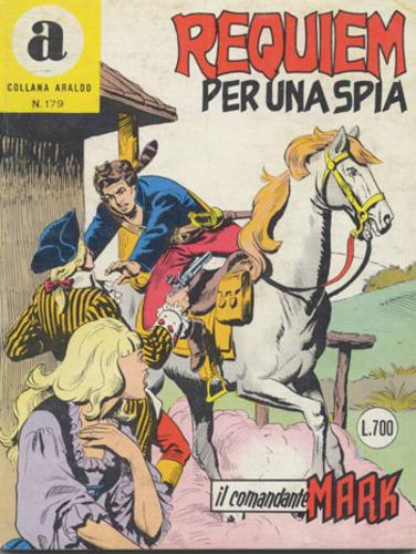 il Comandante Mark collana Araldo copertina numero 179