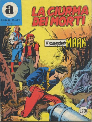 il Comandante Mark collana Araldo copertina numero 181