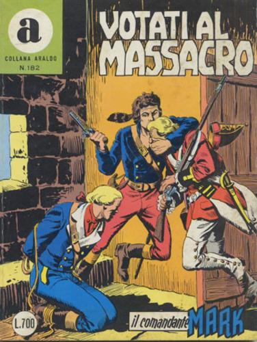 il Comandante Mark collana Araldo copertina numero 182
