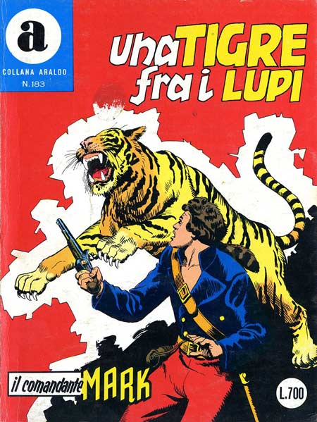 il Comandante Mark collana Araldo copertina numero 183
