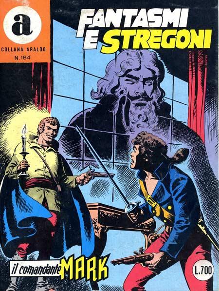 il Comandante Mark collana Araldo copertina numero 184