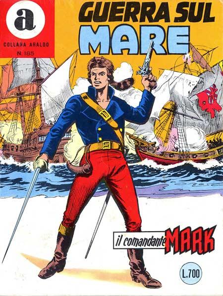 il Comandante Mark collana Araldo copertina numero 185