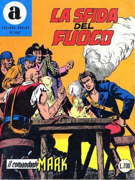 il Comandante Mark collana Araldo copertina numero 186
