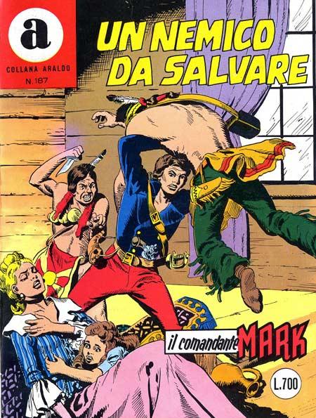 il Comandante Mark collana Araldo copertina numero 187