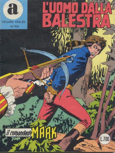 il Comandante Mark collana Araldo copertina numero 188