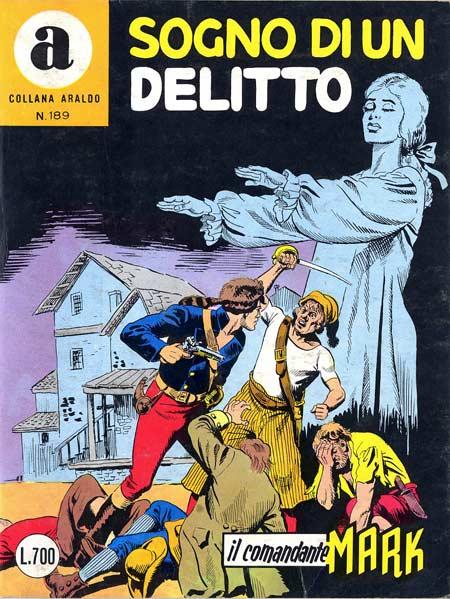 il Comandante Mark collana Araldo copertina numero 189