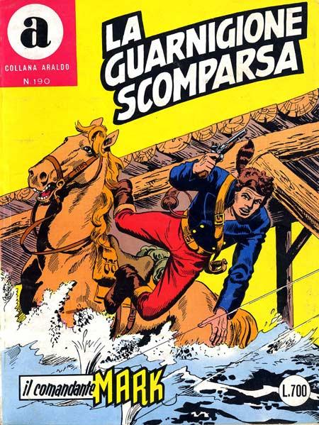 il Comandante Mark collana Araldo copertina numero 190