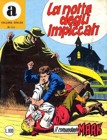 il Comandante Mark collana Araldo copertina numero 191