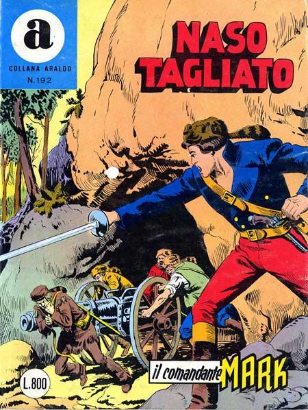 il Comandante Mark collana Araldo copertina numero 192
