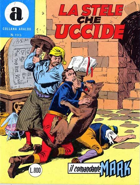 il Comandante Mark collana Araldo copertina numero 193