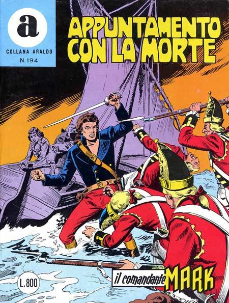 il Comandante Mark collana Araldo copertina numero 194