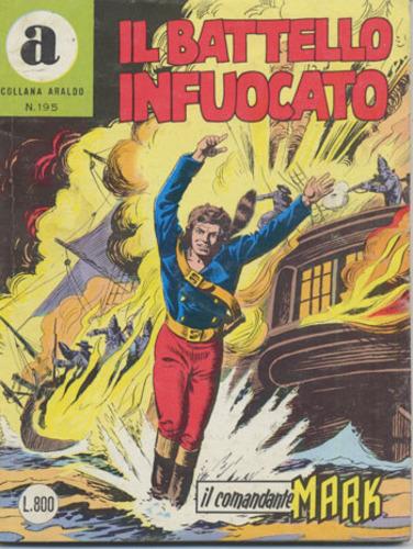 il Comandante Mark collana Araldo copertina numero 195