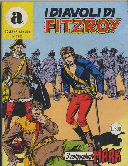 il Comandante Mark collana Araldo copertina numero 196