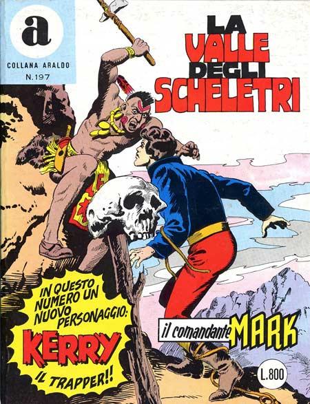 il Comandante Mark collana Araldo copertina numero 197