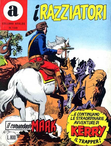 il Comandante Mark collana Araldo copertina numero 198