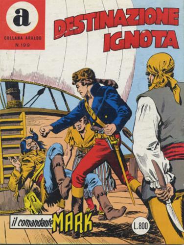 il Comandante Mark collana Araldo copertina numero 199