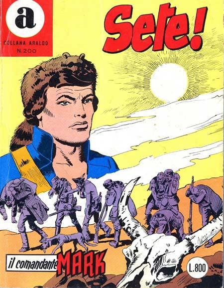 il Comandante Mark collana Araldo copertina numero 200