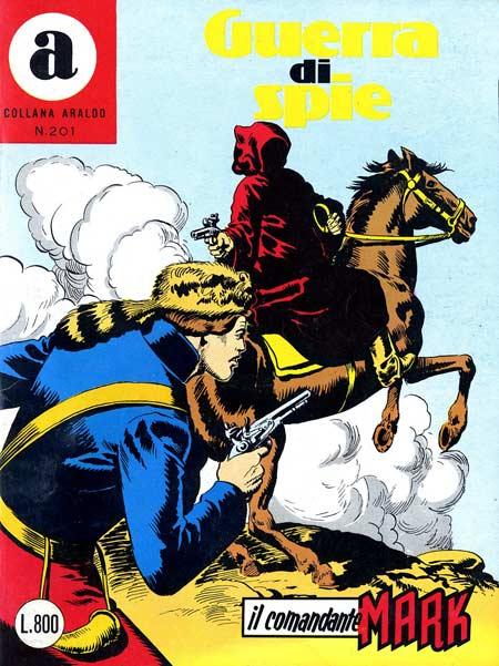 il Comandante Mark collana Araldo copertina numero 201