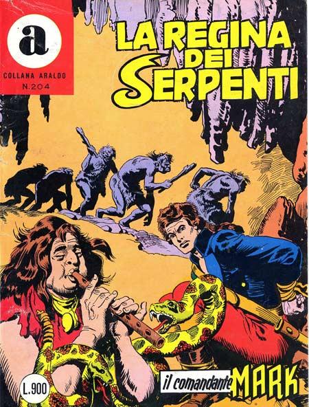 il Comandante Mark collana Araldo copertina numero 204