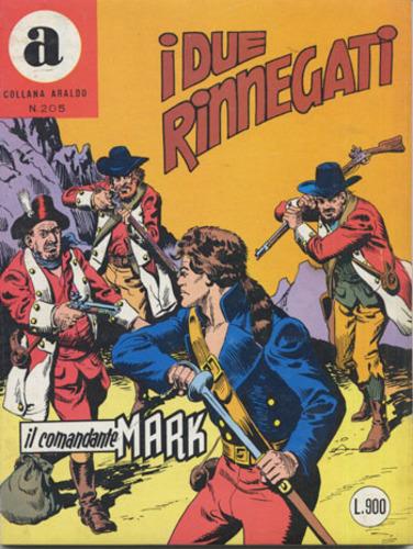 il Comandante Mark collana Araldo copertina numero 205