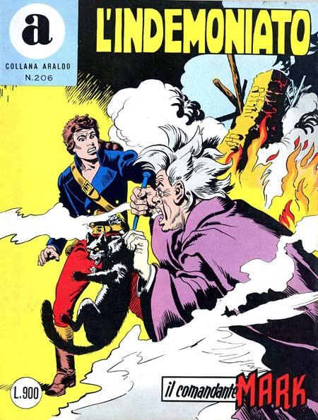 il Comandante Mark collana Araldo copertina numero 206