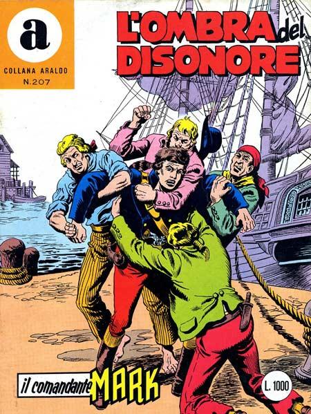 il Comandante Mark collana Araldo copertina numero 207