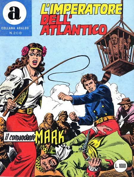 il Comandante Mark collana Araldo copertina numero 208