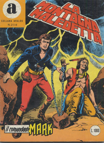 il Comandante Mark collana Araldo copertina numero 209