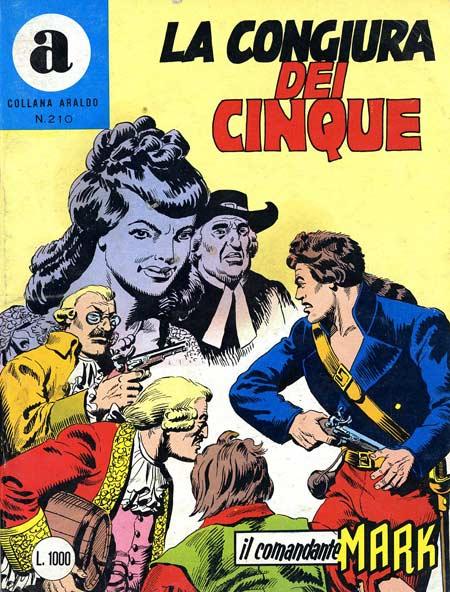 il Comandante Mark collana Araldo copertina numero 210