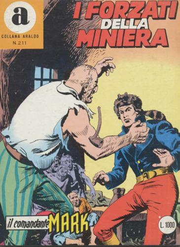 il Comandante Mark collana Araldo copertina numero 211